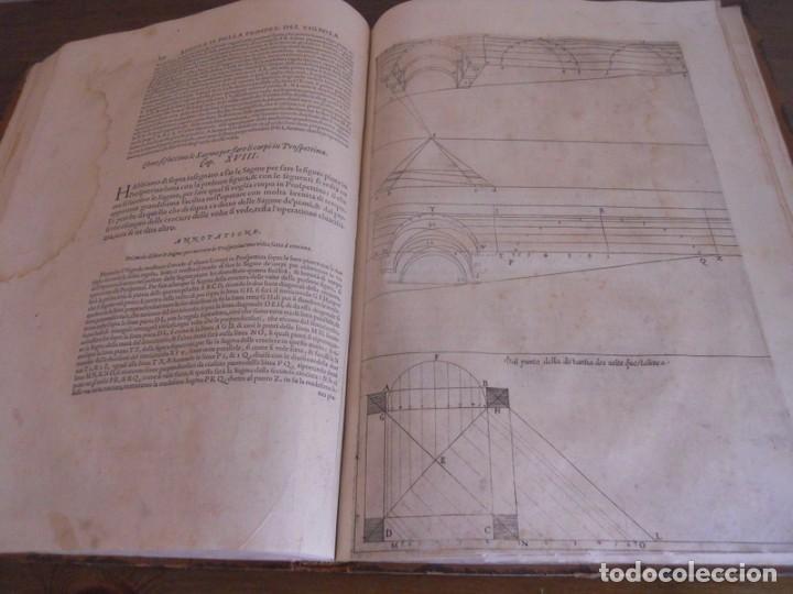 Libros antiguos: BAROZZI DA VIGNOLA: LE DUE REGOLE DELLA PROSPETTIVA..ROMA, 1583 1ª EDIC. ARQUITECTURA RENACIMIENTO - Foto 23 - 87617588