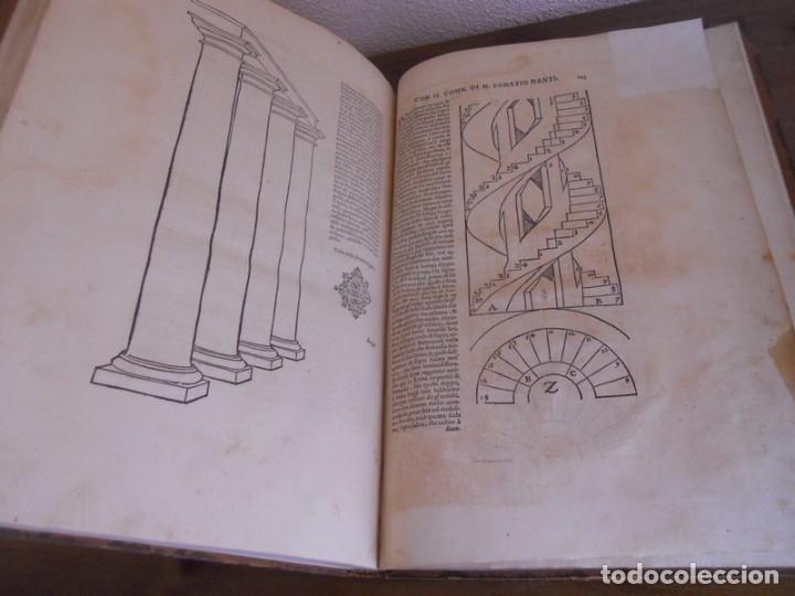 Libros antiguos: BAROZZI DA VIGNOLA: LE DUE REGOLE DELLA PROSPETTIVA..ROMA, 1583 1ª EDIC. ARQUITECTURA RENACIMIENTO - Foto 25 - 87617588