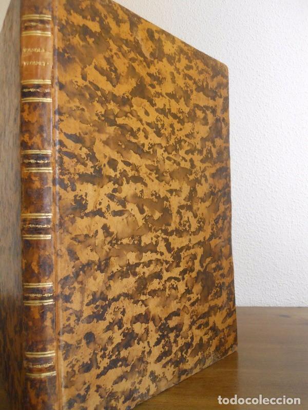 Libros antiguos: BAROZZI DA VIGNOLA: LE DUE REGOLE DELLA PROSPETTIVA..ROMA, 1583 1ª EDIC. ARQUITECTURA RENACIMIENTO - Foto 30 - 87617588