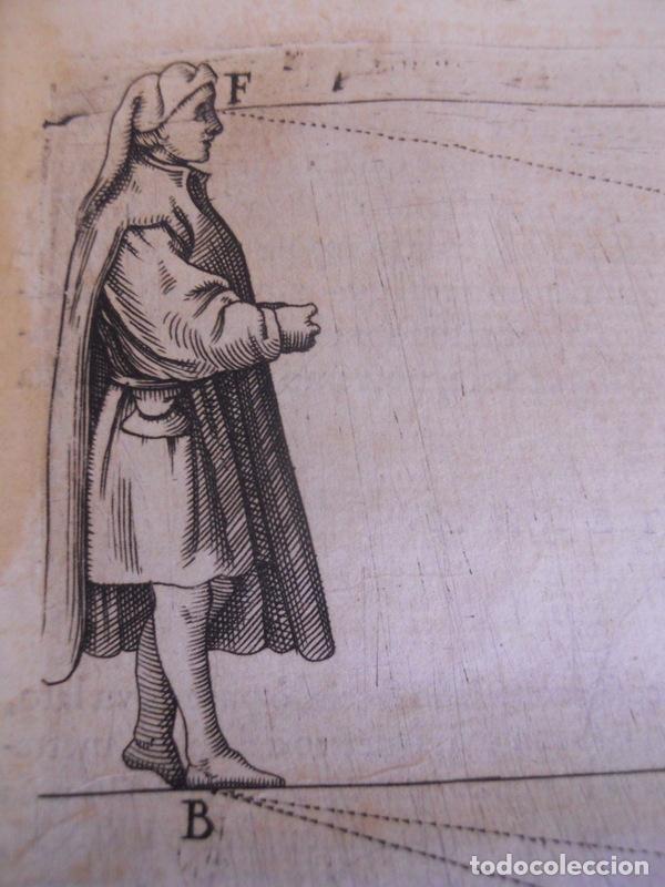 Libros antiguos: BAROZZI DA VIGNOLA: LE DUE REGOLE DELLA PROSPETTIVA..ROMA, 1583 1ª EDIC. ARQUITECTURA RENACIMIENTO - Foto 32 - 87617588
