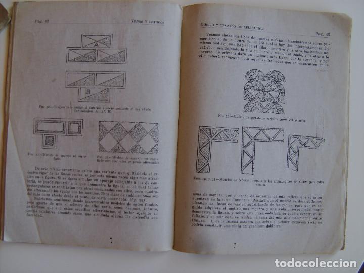 Libros antiguos: Lote de tres libros de construcción, mármoles, albañilería, yesos y estucos. - Foto 5 - 89190988