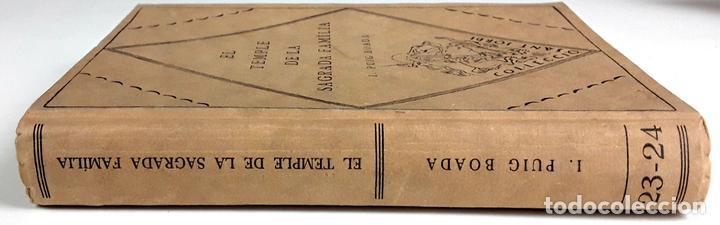 EL TEMPLE DE LA SAGRADA FAMILIA. I. PUIG BOADA. EDITORIAL BARCINO. 1929. (Libros Antiguos, Raros y Curiosos - Bellas artes, ocio y coleccion - Arquitectura)