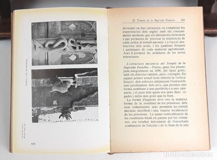 Libros antiguos: EL TEMPLE DE LA SAGRADA FAMILIA. I. PUIG BOADA. EDITORIAL BARCINO. 1929. - Foto 4 - 89837452