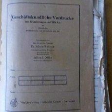 Libros antiguos: CARTAPACIO-DOSIER DE ARQUITECTURA MILITAR CON MUCHOS PLANOS. Lote 91119890