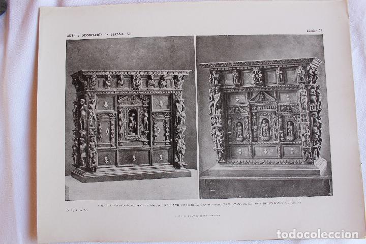 Libros antiguos: ARTE Y DECORACION ES ESPAÑA, ARQUITECTURA ARTE DECORATIVO, TOMO VII, CASELLAS MONCANUT EDITOR - Foto 4 - 207683996
