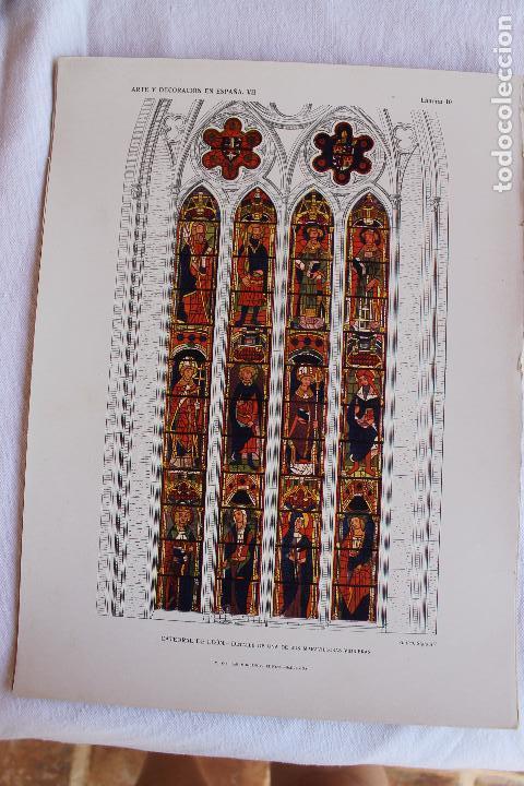 Libros antiguos: ARTE Y DECORACION ES ESPAÑA, ARQUITECTURA ARTE DECORATIVO, TOMO VII, CASELLAS MONCANUT EDITOR - Foto 9 - 207683996