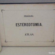 Libros antiguos: ESTEREOTOMIA 1868. Lote 93404465