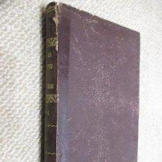 Libros antiguos: ANNALES DES PONTS ET CHAUSÉES, 1884 2º SEMESTRE. INGENIERÍA, EXLIBRIS MILITAR . Lote 95949455