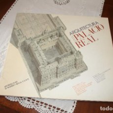 Libros antiguos: ARQUITECTURA EN EL PALACIO REAL. Lote 96423895