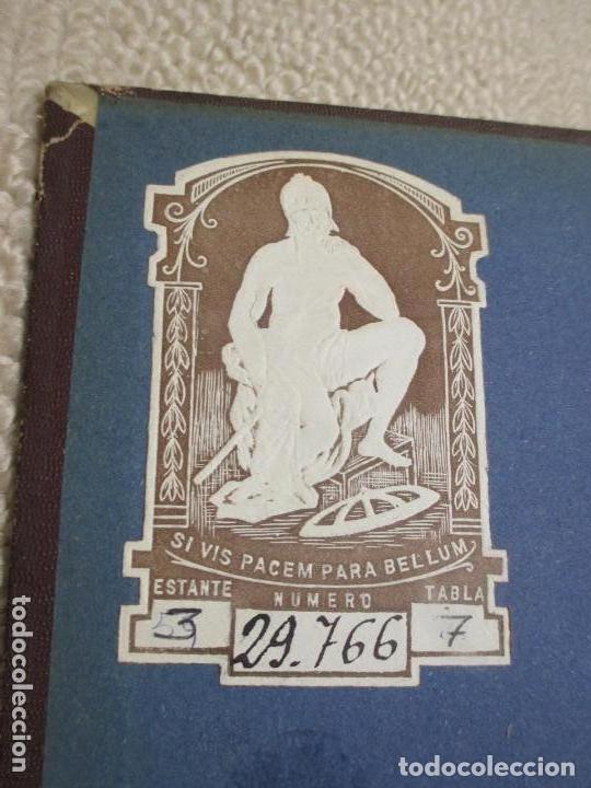 Libros antiguos: Annales des ponts et Chausées 20 tomos de 1869 a 1891 Ingeniería, exlibris militar, precio por tomo - Foto 2 - 96463255