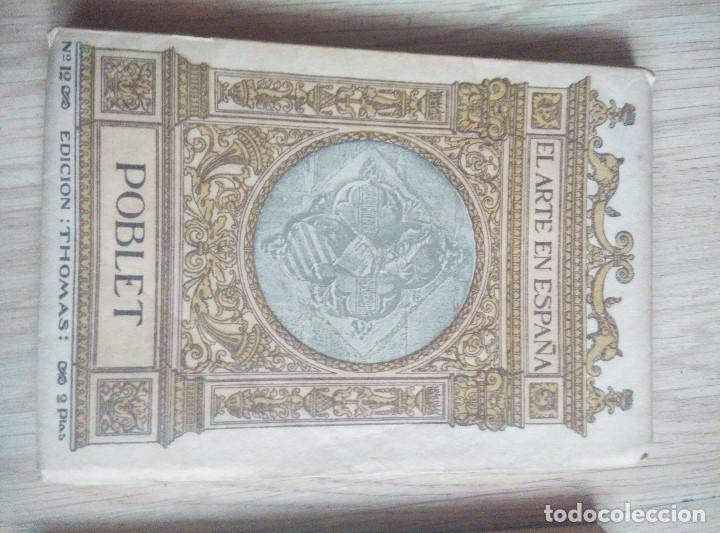 Libros antiguos: 3 ANTIGUOS LIBROS DE ARTE EN ESPAPÑA, Nº 1 GUADALAJARA , Nº 2 CATEDRAL BURGOSY Nº 12 POLLET, - Foto 2 - 96803455
