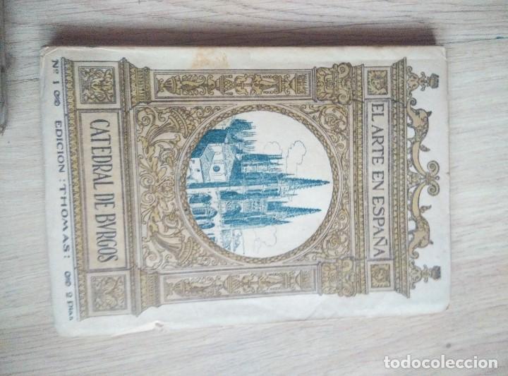 Libros antiguos: 3 ANTIGUOS LIBROS DE ARTE EN ESPAPÑA, Nº 1 GUADALAJARA , Nº 2 CATEDRAL BURGOSY Nº 12 POLLET, - Foto 3 - 96803455