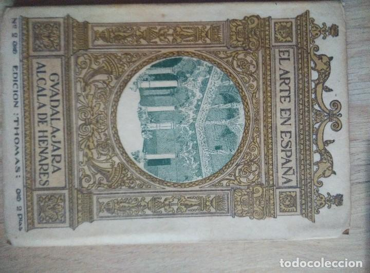 Libros antiguos: 3 ANTIGUOS LIBROS DE ARTE EN ESPAPÑA, Nº 1 GUADALAJARA , Nº 2 CATEDRAL BURGOSY Nº 12 POLLET, - Foto 4 - 96803455