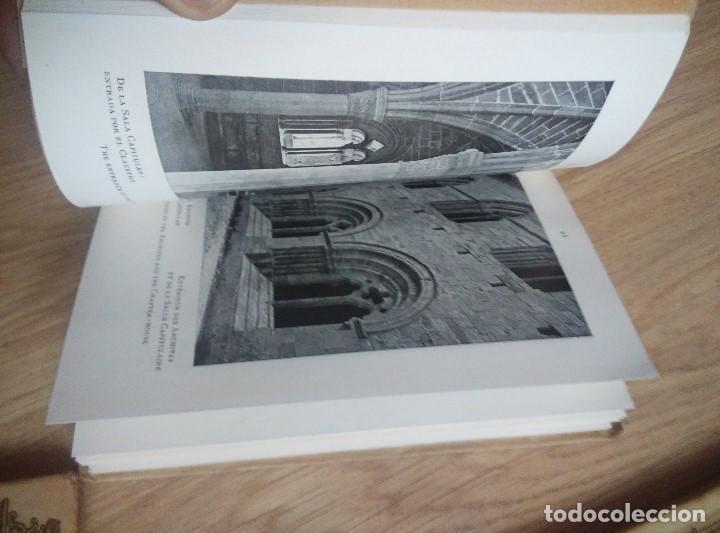 Libros antiguos: 3 ANTIGUOS LIBROS DE ARTE EN ESPAPÑA, Nº 1 GUADALAJARA , Nº 2 CATEDRAL BURGOSY Nº 12 POLLET, - Foto 6 - 96803455