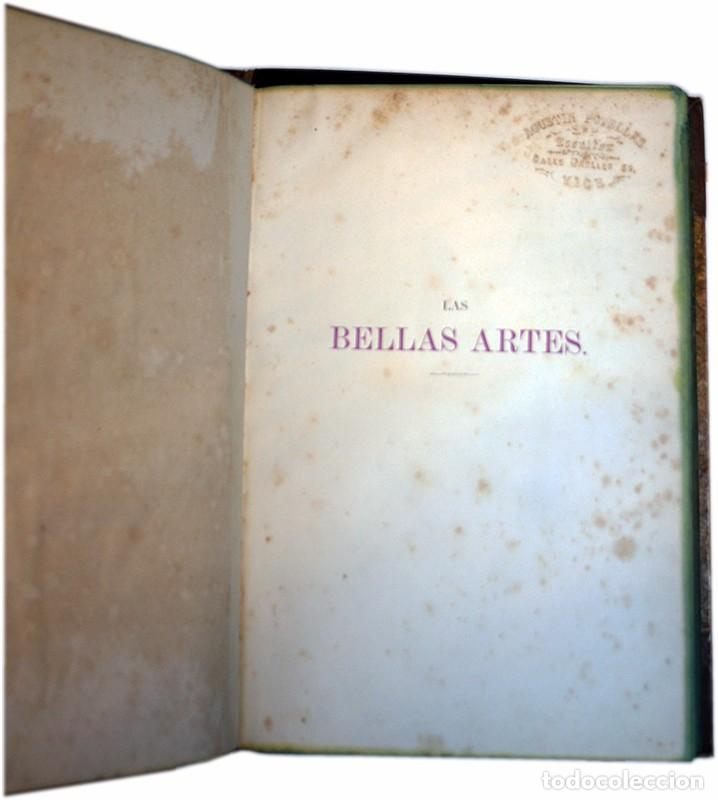 Libros antiguos: Libro Las Bellas Artes. Historia de la Arquitectura, La Escultura y la Pintura. José de Manjarrés - Foto 2 - 97465919