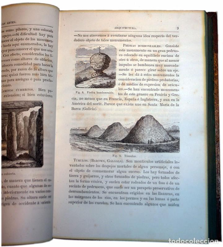 Libros antiguos: Libro Las Bellas Artes. Historia de la Arquitectura, La Escultura y la Pintura. José de Manjarrés - Foto 7 - 97465919