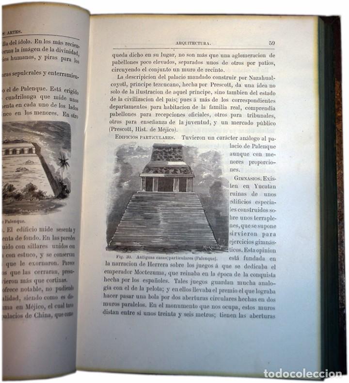Libros antiguos: Libro Las Bellas Artes. Historia de la Arquitectura, La Escultura y la Pintura. José de Manjarrés - Foto 8 - 97465919