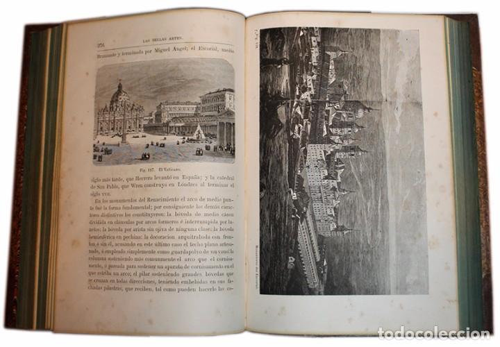 Libros antiguos: Libro Las Bellas Artes. Historia de la Arquitectura, La Escultura y la Pintura. José de Manjarrés - Foto 9 - 97465919