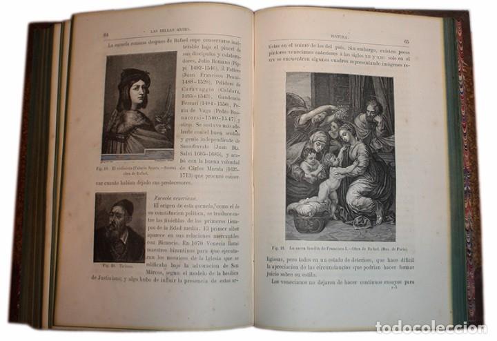 Libros antiguos: Libro Las Bellas Artes. Historia de la Arquitectura, La Escultura y la Pintura. José de Manjarrés - Foto 11 - 97465919