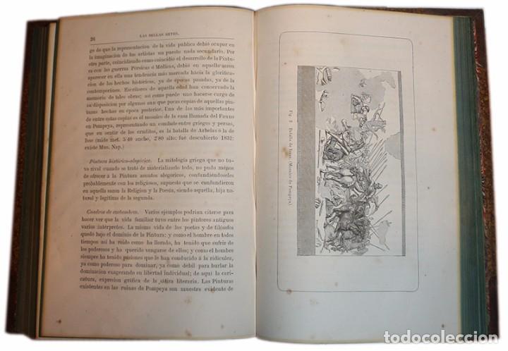 Libros antiguos: Libro Las Bellas Artes. Historia de la Arquitectura, La Escultura y la Pintura. José de Manjarrés - Foto 12 - 97465919
