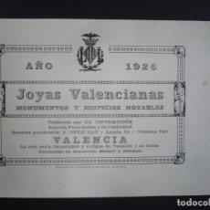 Libros antiguos: JOYAS VALENCIANAS. MONUMENTOS Y EDIFICIOS NOTABLES. 1926.. Lote 99141695