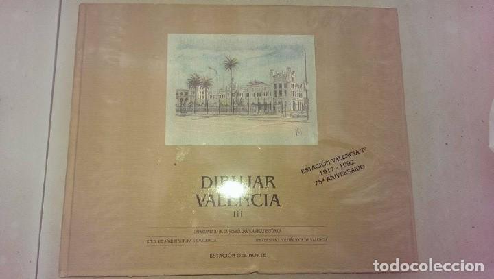 LIBRO ARQUITECTURA DIBUJAR VALENCIA ESTACION DEL NORTE 75 ANIVERSARIO AÑO 1992 (Libros Antiguos, Raros y Curiosos - Bellas artes, ocio y coleccion - Arquitectura)
