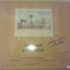 Libros antiguos: LIBRO ARQUITECTURA DIBUJAR VALENCIA ESTACION DEL NORTE 75 ANIVERSARIO AÑO 1992. Lote 101714375