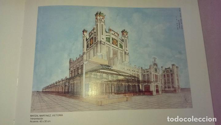 Libros antiguos: Libro arquitectura dibujar Valencia Estacion del Norte 75 aniversario año 1992 - Foto 3 - 101714375