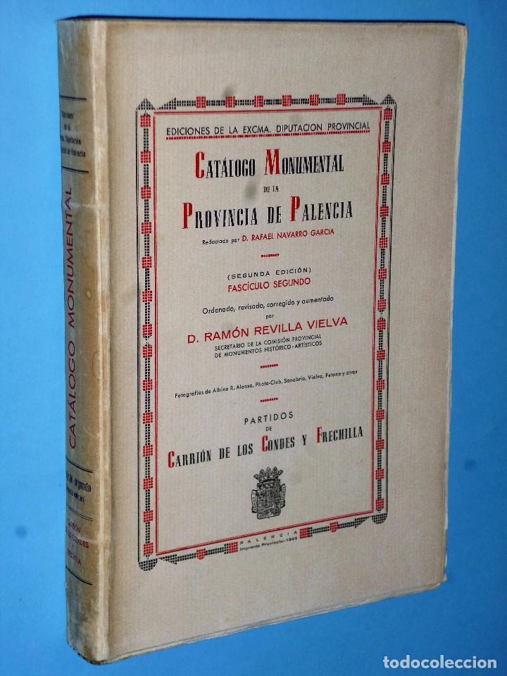 Libros antiguos: CATÁLOGO MONUMENTAL DE LA PROVINCIA DE PALENCIA (Obra completa en 4 TOMOS) - Foto 3 - 102118959