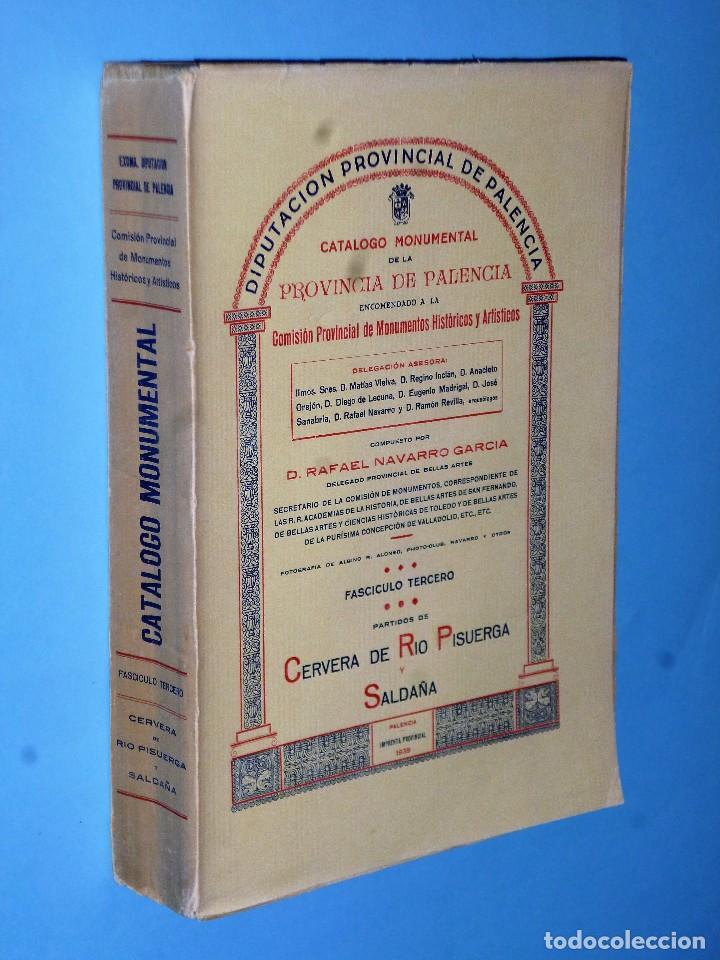 Libros antiguos: CATÁLOGO MONUMENTAL DE LA PROVINCIA DE PALENCIA (Obra completa en 4 TOMOS) - Foto 4 - 102118959