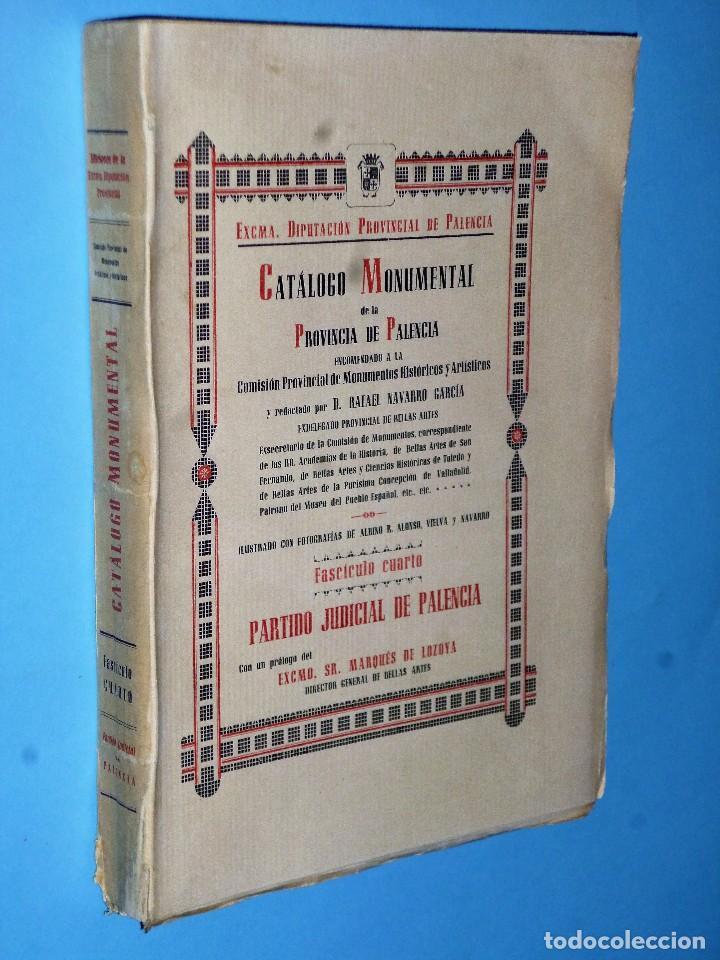 Libros antiguos: CATÁLOGO MONUMENTAL DE LA PROVINCIA DE PALENCIA (Obra completa en 4 TOMOS) - Foto 5 - 102118959