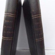 Libros antiguos: OBRAS COMPLETAS DEL DUQUE DE RIVAS DOS TOMOS DE 1885. Lote 102298135