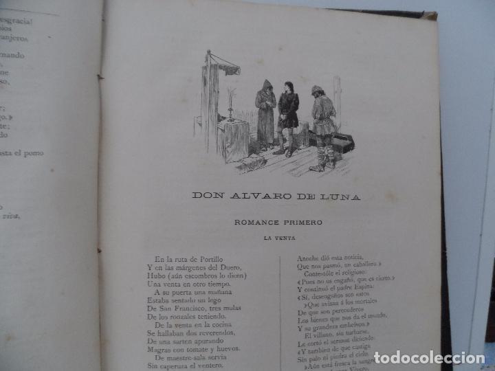 Libros antiguos: OBRAS COMPLETAS DEL DUQUE DE RIVAS DOS TOMOS DE 1885 - Foto 4 - 102298135