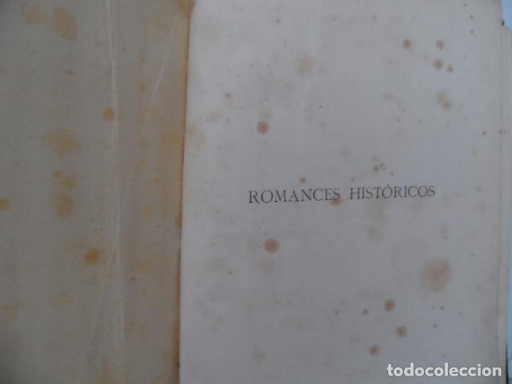 Libros antiguos: OBRAS COMPLETAS DEL DUQUE DE RIVAS DOS TOMOS DE 1885 - Foto 5 - 102298135
