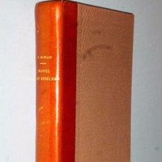 Livres anciens: MANUEL D´ART MUSULMAN.TOME I.- L´ARCHITECTURE DU IX AU XII SIÈCLE. Lote 103132507
