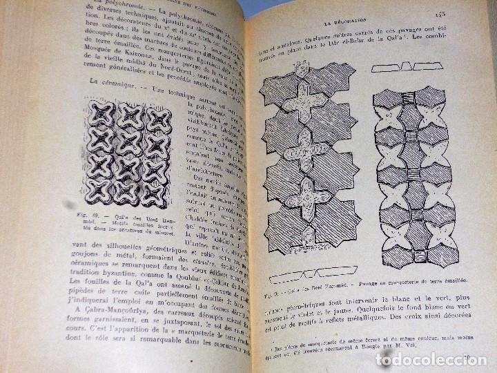 Libros antiguos: MANUEL D´ART MUSULMAN.TOME I.- L´ARCHITECTURE DU IX AU XII SIÈCLE - Foto 3 - 103132507