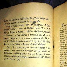 Libros antiguos: LOS DIEZ LIBROS DE ARQUITECTURA DE VITRUBIO. TRADUCIDOS DEL LATIN POR JOSEPH ORTIZ Y SANZ. AÑO 1787.. Lote 103300651