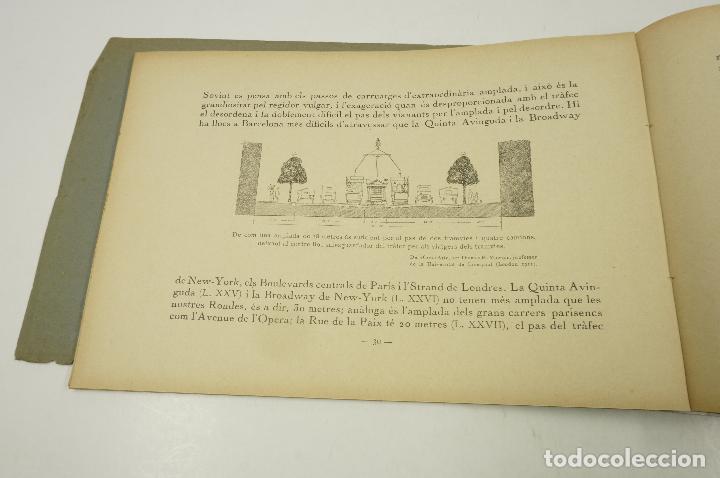 Libros antiguos: la plaça de catalunya, josep puig i cadafalch, 1927, llibreria catalònia. 25,5x18cm - Foto 4 - 104355195