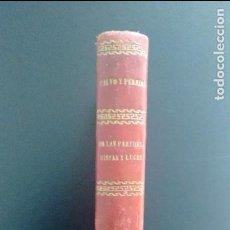 Libros antiguos: ARQUITECTURA LEGAL. TRATADO ESPECIAL DE LA LEGISLACIÓN VIGENTE. CALVO Y PEREIRA. 1865. Lote 104853527