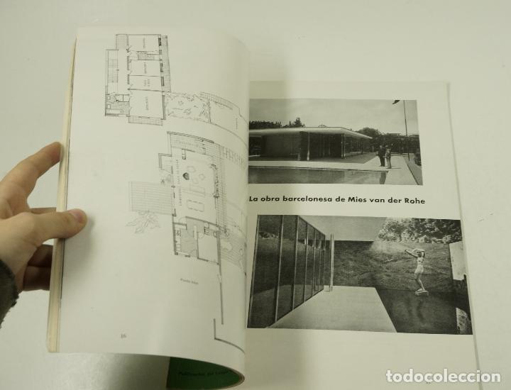 Libros antiguos: Cuadernos de arquitectura, colegio de arquitectos de Barcelona y Baleares, n. 21, 1955. 25x33cm - Foto 2 - 107002427
