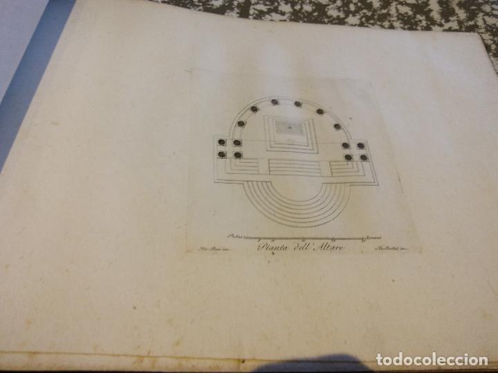 Libros antiguos: HOS. PROGETTI DI ARCHITETTURA DI LEOPOLDO BUZI. ROMA 1816. NELLA STAMPERIA DE ROMANIS, DE COLECCION - Foto 3 - 107263103