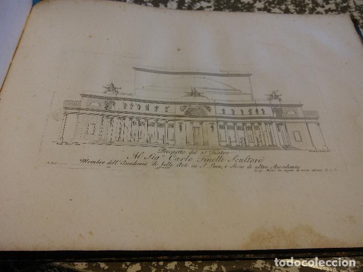 Libros antiguos: HOS. PROGETTI DI ARCHITETTURA DI LEOPOLDO BUZI. ROMA 1816. NELLA STAMPERIA DE ROMANIS, DE COLECCION - Foto 4 - 107263103