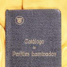 Libros antiguos: LIBRO CATÁLOGO DE PERFILES LAMINADOS. 1926. ALTOS HORNOS DE VIZCAYA.. Lote 107424251