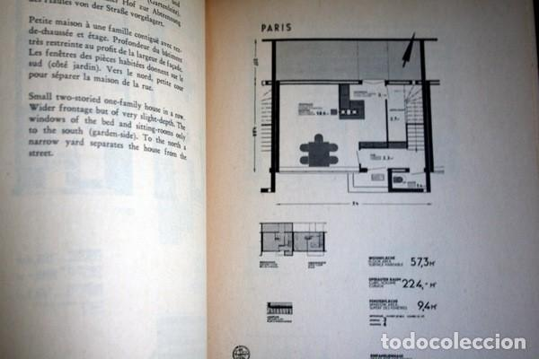 Libros antiguos: L'HABITATION MINIMUM - Le Corbusier / Bourgeois / Giedion / Gropius - 1933 - Foto 8 - 107648107