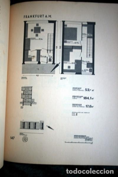 Libros antiguos: L'HABITATION MINIMUM - Le Corbusier / Bourgeois / Giedion / Gropius - 1933 - Foto 9 - 107648107