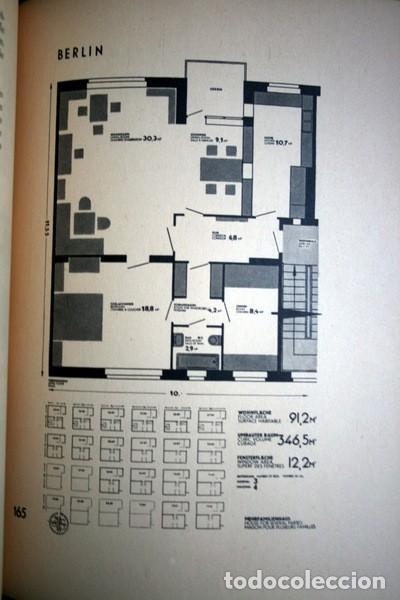 Libros antiguos: L'HABITATION MINIMUM - Le Corbusier / Bourgeois / Giedion / Gropius - 1933 - Foto 10 - 107648107
