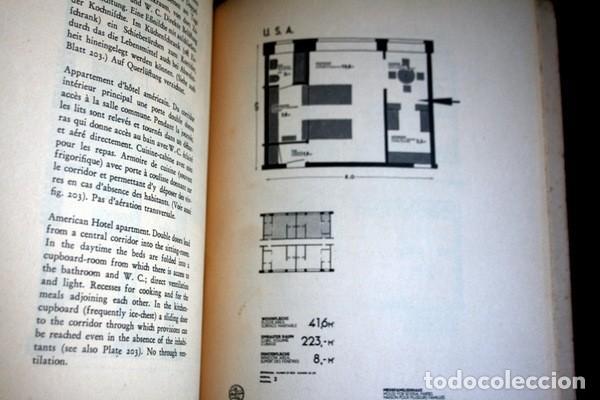 Libros antiguos: L'HABITATION MINIMUM - Le Corbusier / Bourgeois / Giedion / Gropius - 1933 - Foto 11 - 107648107