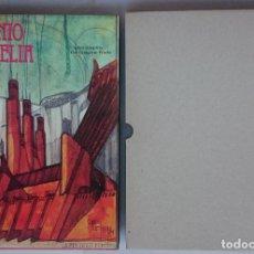 Libros antiguos: ANTONIO SANT'ELIA L'OPERA COMPLETA-THE COMPLETE WORKS CATÁLOGO RAZONADO 1987. ARQUITECTURA FUTURISTA. Lote 107988139