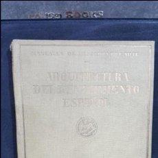 Libros antiguos: 1929. MANUALES DE HISTORIA DEL ARTE.ARQUITECTURA DEL RENACIMIENTO ESPAÑOL.JF RAFOLS.SEIX BARRAL. Lote 107991335