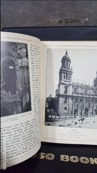 Libros antiguos: 1929. MANUALES DE HISTORIA DEL ARTE.ARQUITECTURA DEL RENACIMIENTO ESPAÑOL.JF RAFOLS.SEIX BARRAL - Foto 2 - 107991335